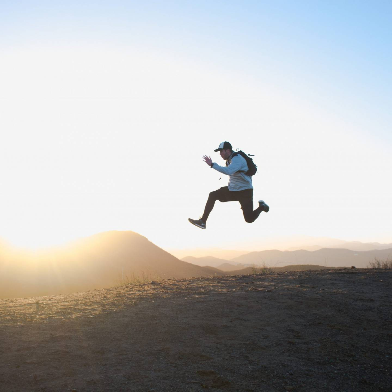Man Running an Ultra
